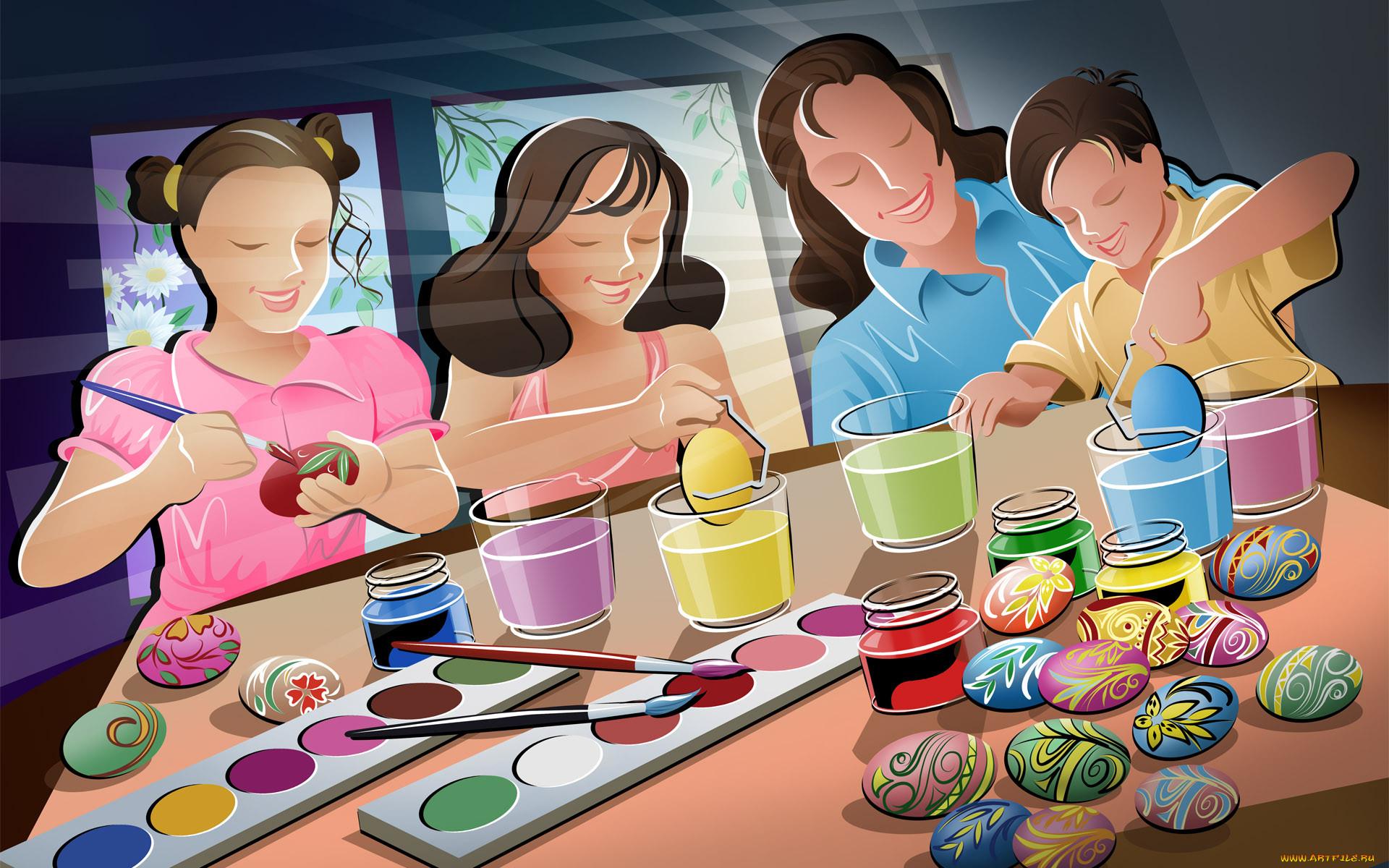 Праздник в семье картинки для детей